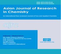 Asian Journal of Research in Chemistry (AJRC)